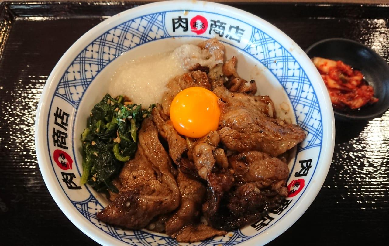 イオンモール和歌山フードコート肉丸商店
