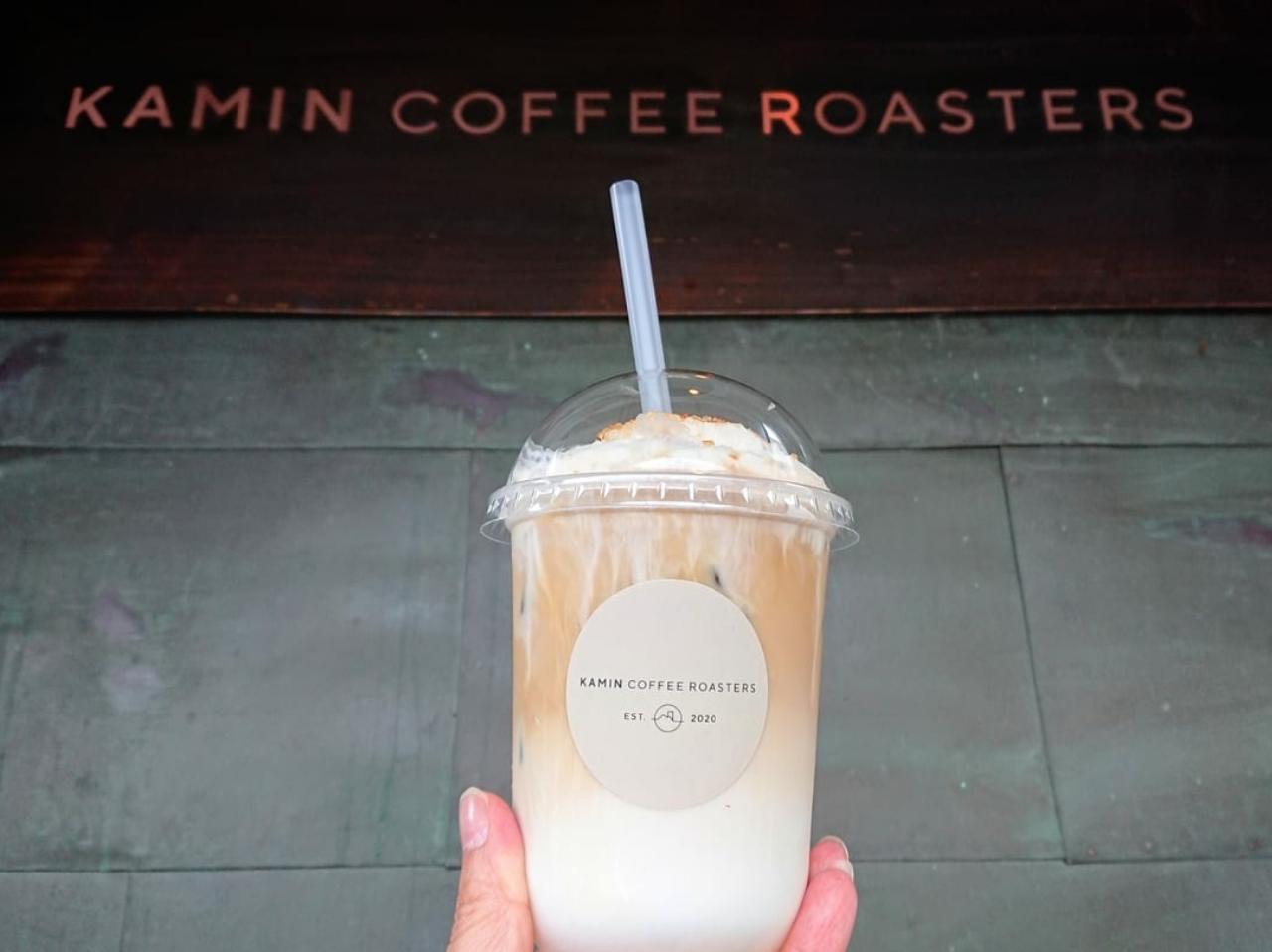 岩出市KAMIN COFFEE ROASTERS